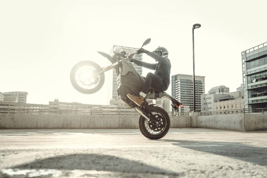 Zero FXS --photo courtesy of Zero Motorcycles