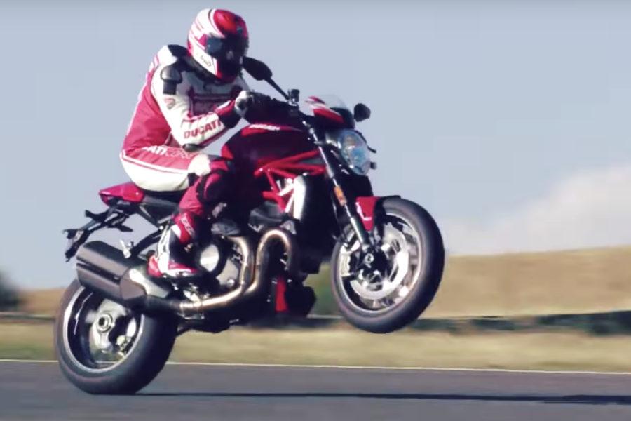 2019 Ducati Monster 1200  -- image courtesy of Ducati