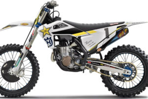 Husqvarna FC 450 Rockstar Edition -- photo courtesy Husqvarna