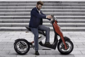 Zapp i300 scooter -- photo courtesy of Zapp Scooters