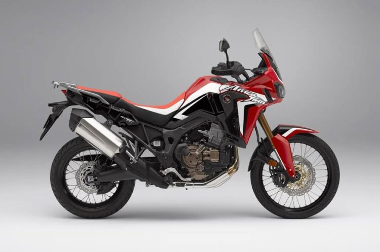 Honda Africa Twin adventure bike