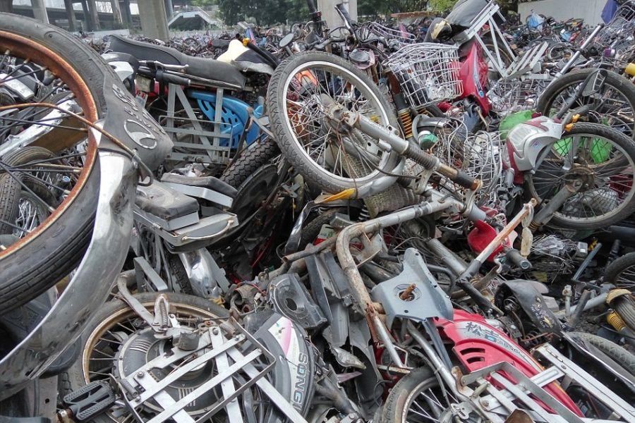 Scrap 25,000 Motorcycles To Reduce Pollution?
