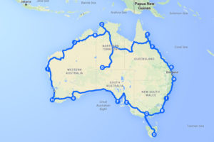 The Long Way Around Down Under