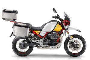 Moto Guzzi has announced its V85 TT adventure bike is available for pre-booking in […]