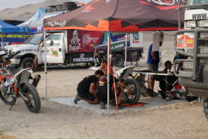 The mood at the Arequipa bivouac yesterday had shifted. Half of the Dakar rally […]