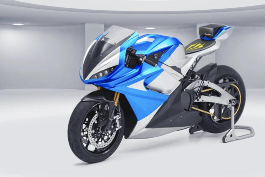 Lightning LS-218 electric motorcycle -- image courtesy of Lightning