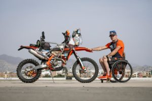 Heart Of A Lion – Paralyzed Dakar Competitor Takes To Peru's Sand