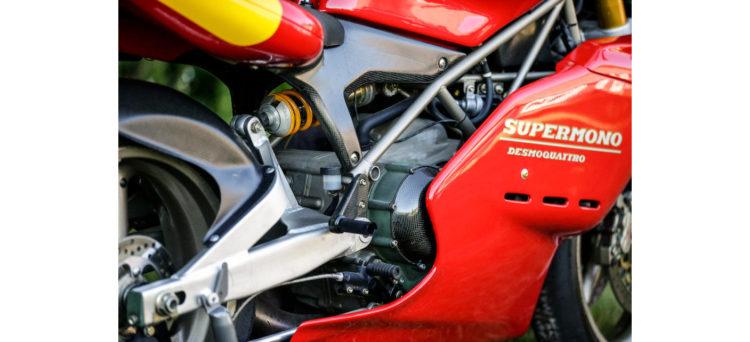 Ducati Supermono trellis Ohlins