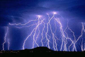 News flash: Lightning may be pretty, but it's not your friend