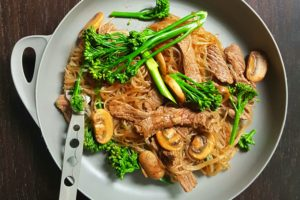 Recipe: Beef and Mushroom Noodles