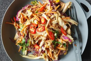 The flavour of satay in a crunchy fresh salad, this is a great option […]