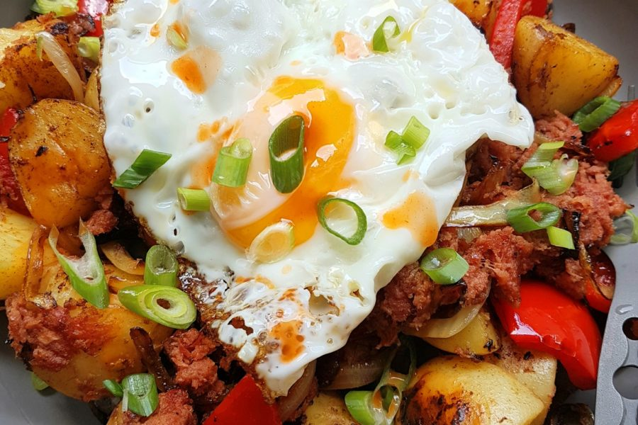 Whilst traditionally a breakfast meal made from leftover corned beef, it also makes a […]