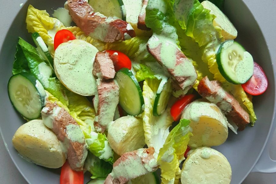 All the great flavours of a classic lamb roast made into a simple salad […]