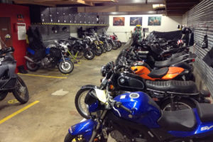 motorcycles garage