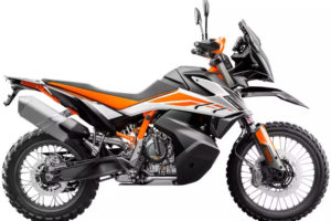 KTM's 790 Adventure models are priced right in the middle of all their competition. Photo: KTM
