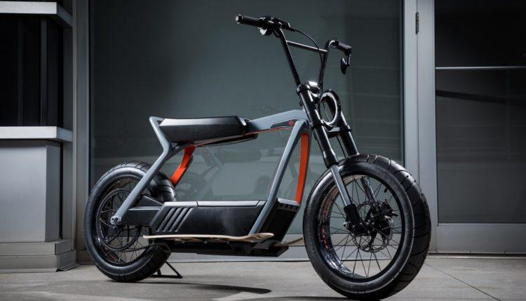 Harley-Davidson concept scooter