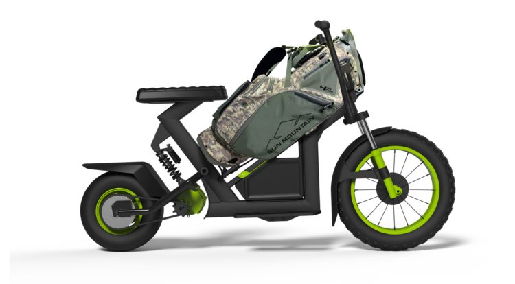 Electric Golf Caddy >> Sun Mountain S Finncycle Electric Golf Caddy Adventure Rider