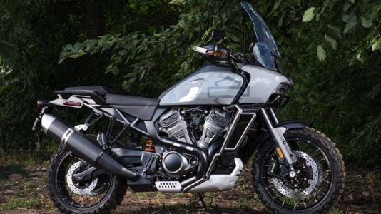 Hey, odd-lookin' – The Harley-Davidson Panamerica not looking like a Harley!