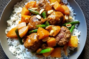 Recipe for the Road: Massaman Beef Meatballs