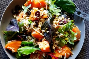 Sweet Potato Grain Salad