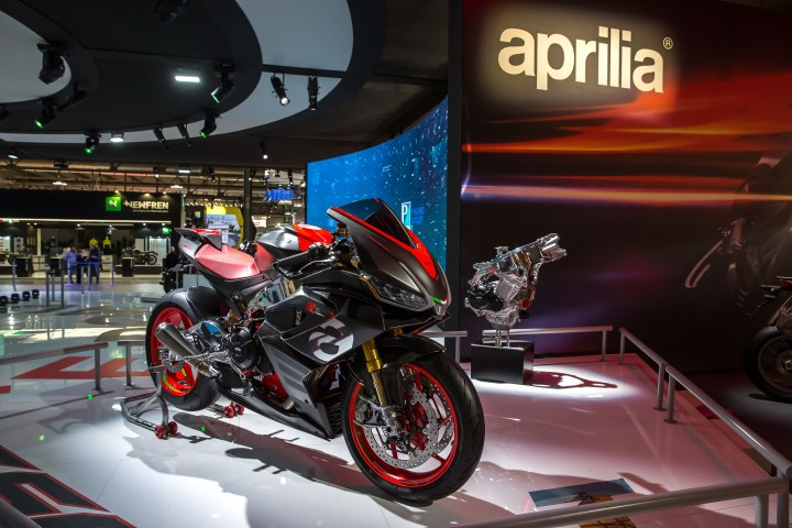 The Aprilia RS660 could blaze the trail for bikes with active aerodynamics.