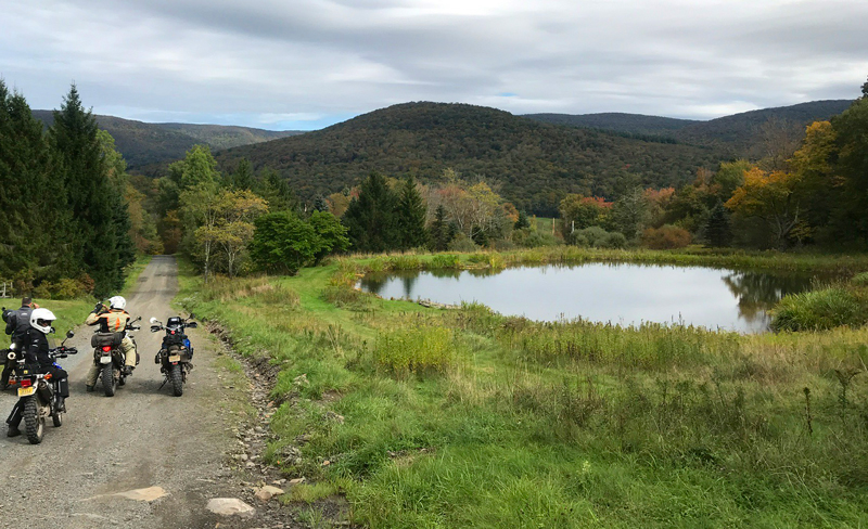 A BDR through soggy New England? Watch out for mosquitoes! Photo: BDR
