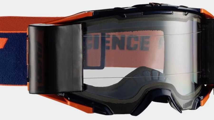 Leatt's new goggle line comes with dual-pane lenses as standard.