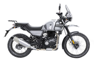 This is the new Sleet paint scheme for the Royal Enfield Himalayan.