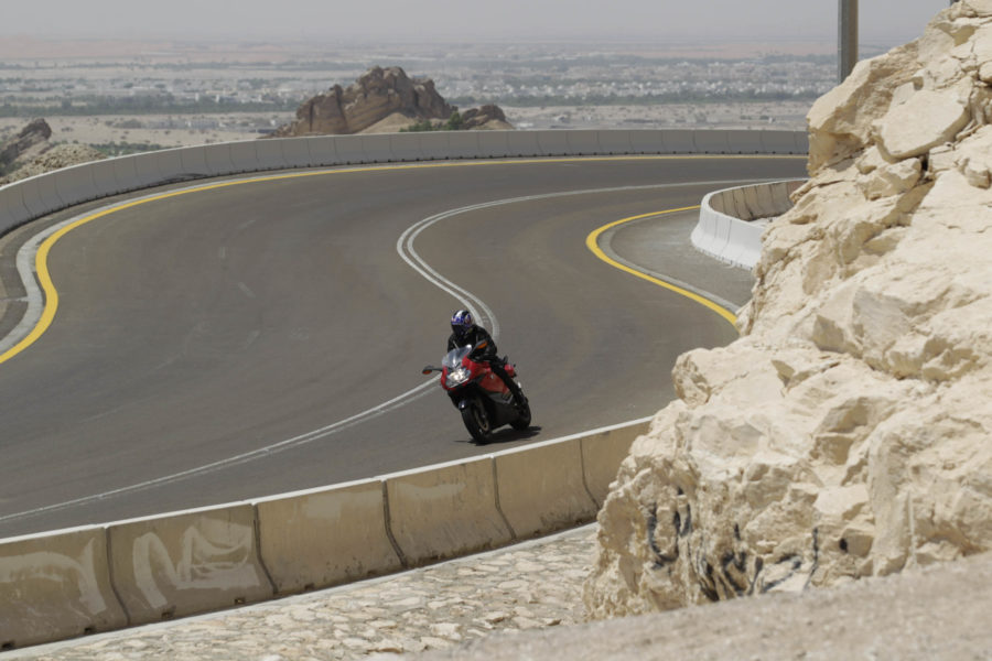 The world's best motorcycle road
