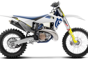 The TX300i is Husqvarna's first fuel-injected two-stroke race bike.