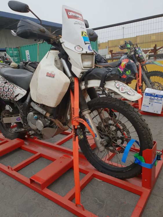 Motorcycle Shipping: South America to Europe www.advrider.com