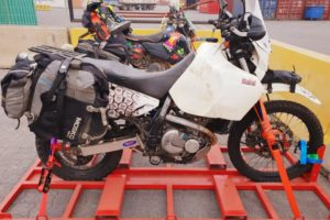 Motorcycle Shipping: South America to Europe