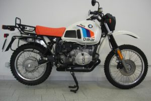 The orange seat wasn't practical, but everything else was. BMW's R 80 G/S started the modern craze for adventure bikes.