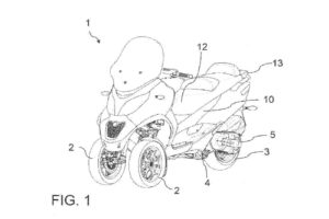 Piaggio has filed a rather complex US patent application for a system that would […]