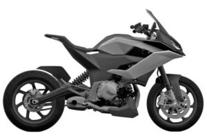 Here's another image of the new F850 street bike.