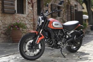 The updated Scrambler line is selling well for Ducati.