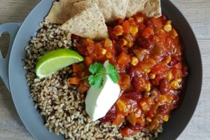 Vegetarian Chilli (… even meat lovers will be coming back for seconds)