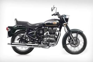 A Royal Enfield Bullet 500.  Photo credit: Royal Enfield