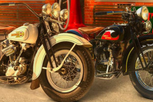 """Riding Into History"" Vintage Motorcycle Show Coming"
