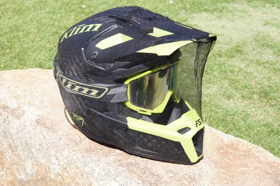 Quick Tip – Stopping Flies Getting In Your Helmet