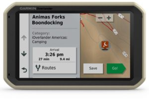The new Garmin Overlander is $699 US.