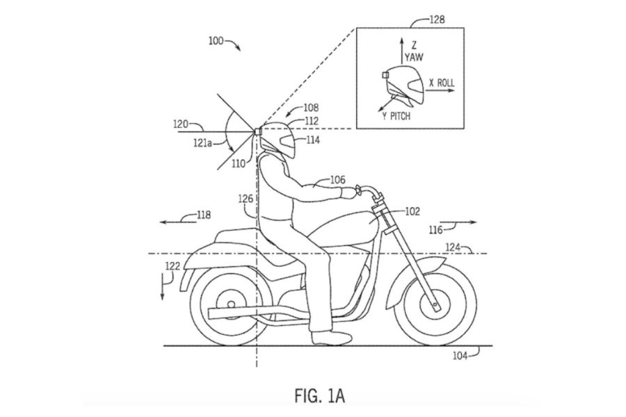 Honda's design brings onboard safety tech to the rider, not the bike.
