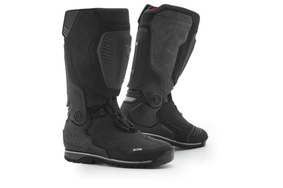 This is REV'IT!'s new flagship adventure boot.