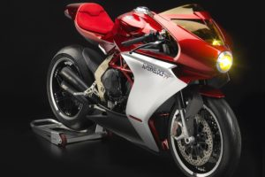 The Superveloce concept bike first appeared at the 2018 EICMA show.