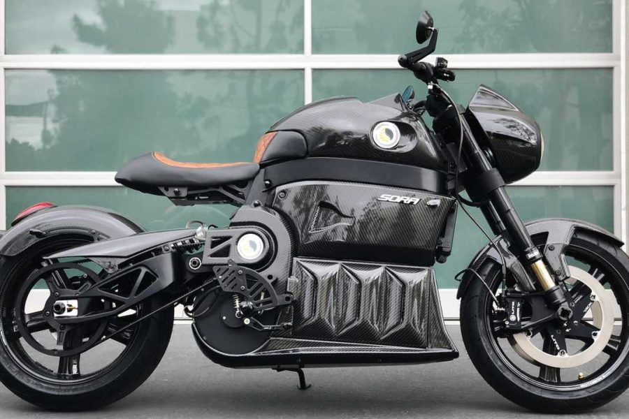 Lito Sora 2.0 Electric Motorcycle Unveiled