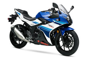 The recalled GSX250R.  Photo credit: Suzuki