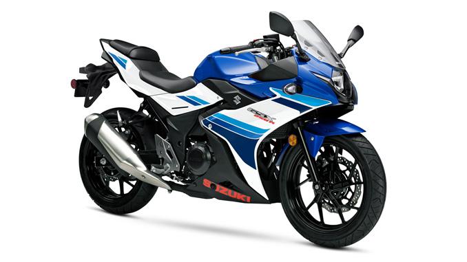 The recalled GSX250R.  Photo credit: Suzuki