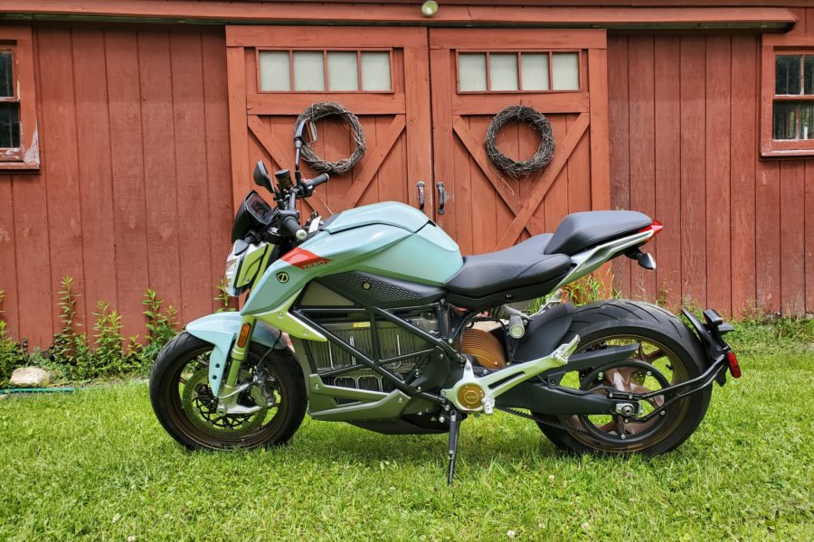 Zero SR/F Electric Motorcycle Review