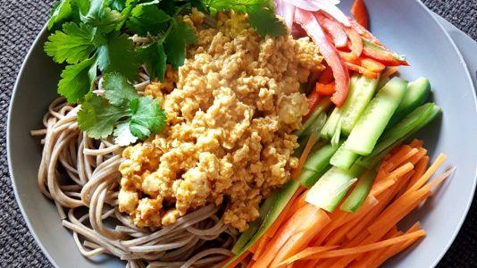 Soba Noodle Salad Photo @kylie.d