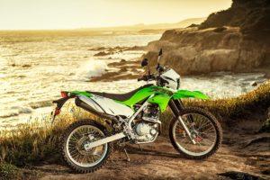 The 2020 Kawasaki KLX230. Photo: Kawasaki